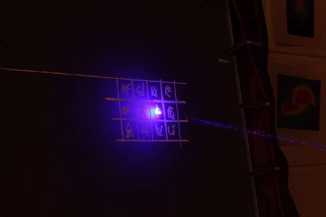 Sending light with large alphabet encoding. Credit: University of Twente