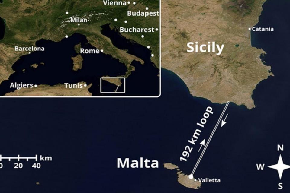 Researchers establish quantum encrypted connection between Sicily and Malta