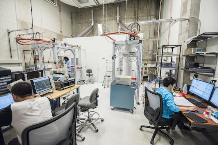 Lab of Chris Wilson. Credit: University of Waterloo