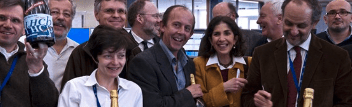 CERN Large Hadron Collider 10-year celebration