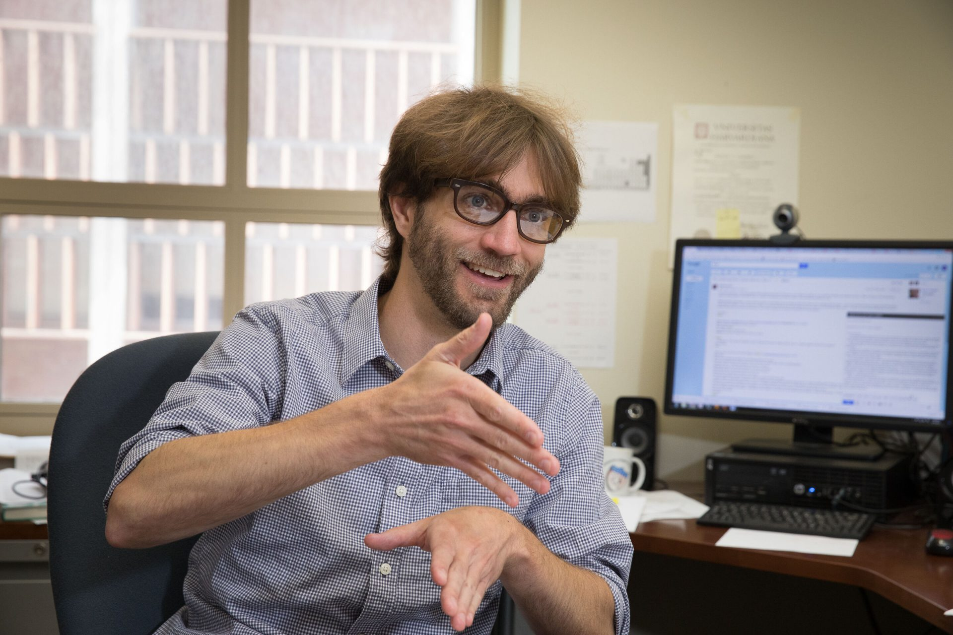 Assistant Professor Wesley Campbell, UCLA Physics & Astronomy. Credit: UCLA