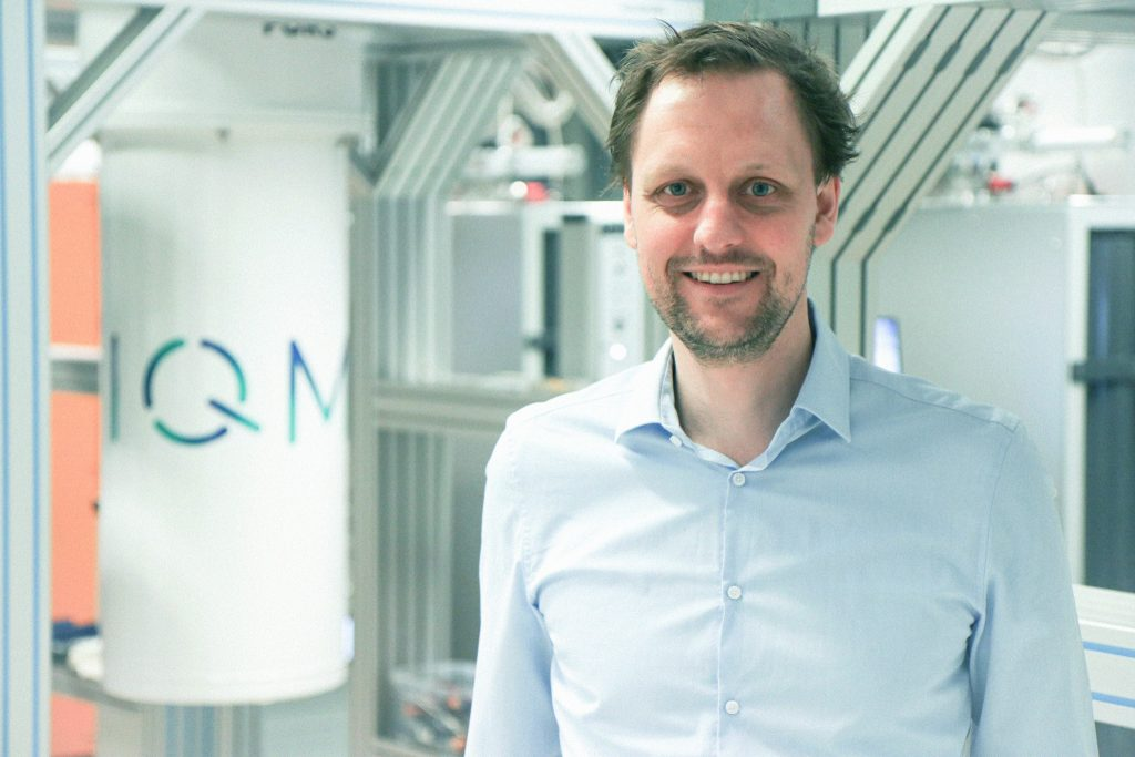 """IQM's CEO and Co-founder Dr Jan Goetz: """"IQM's new underground labs are ideally positioned for integration of the Atos QLM."""""""