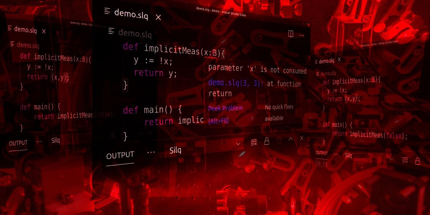 Computer scientists at ETH Zurich have developed the first quantum programming language that enables solving complex computations elegantly, simply and safely. Credit: ETH Zurich