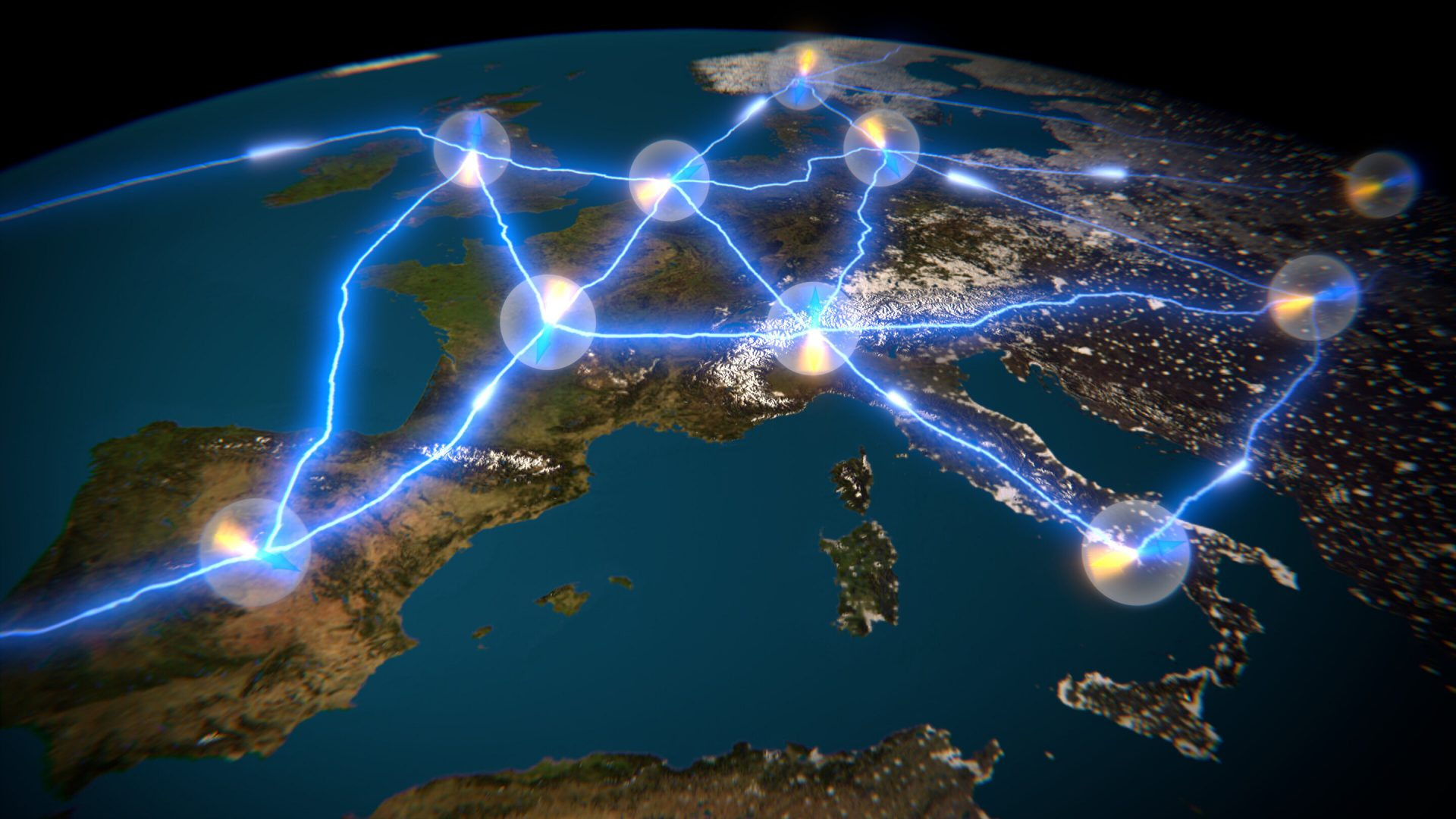 The Quantum Internet Alliance consortium is part of the first phase of funding of the EU quantum flagship. Credit: QuTech-Delft